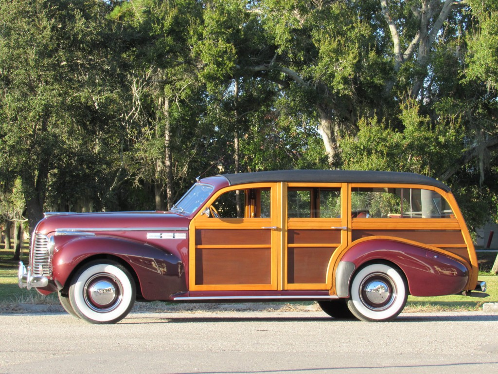 1940 Buick Series 50 Super State Wagon