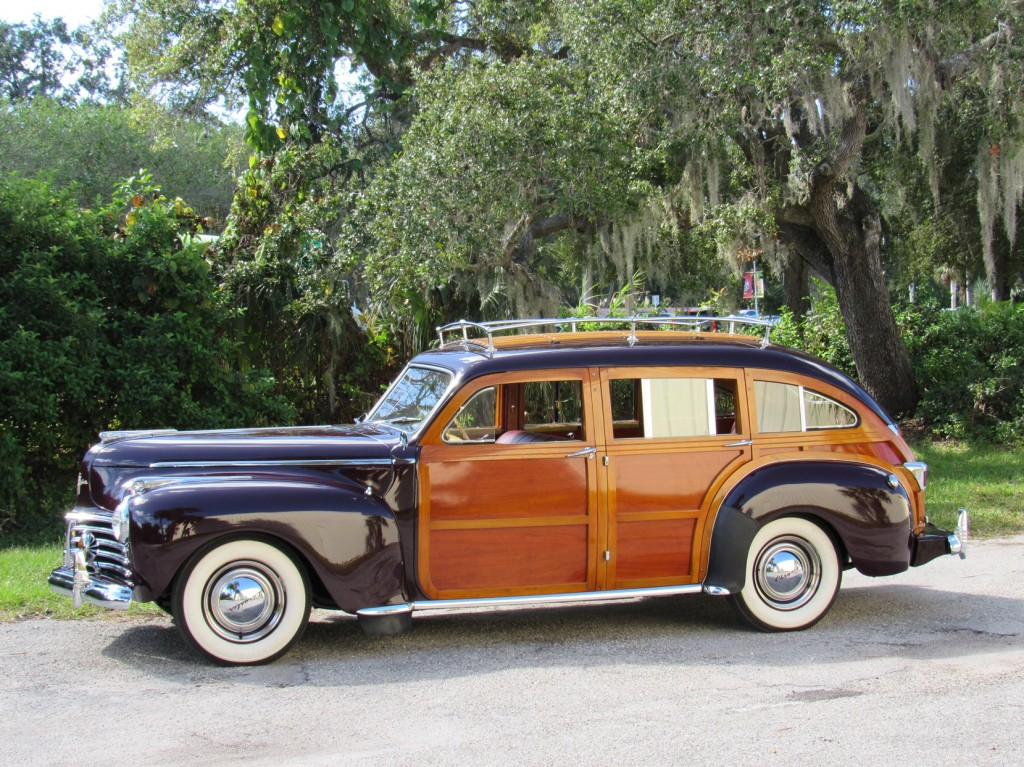 1941 Chrysler Town and Country Barrell Back Estate Wagon